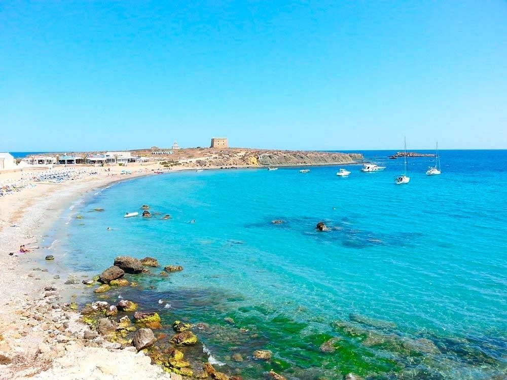 La Isla Tabarca cerca de Alicante